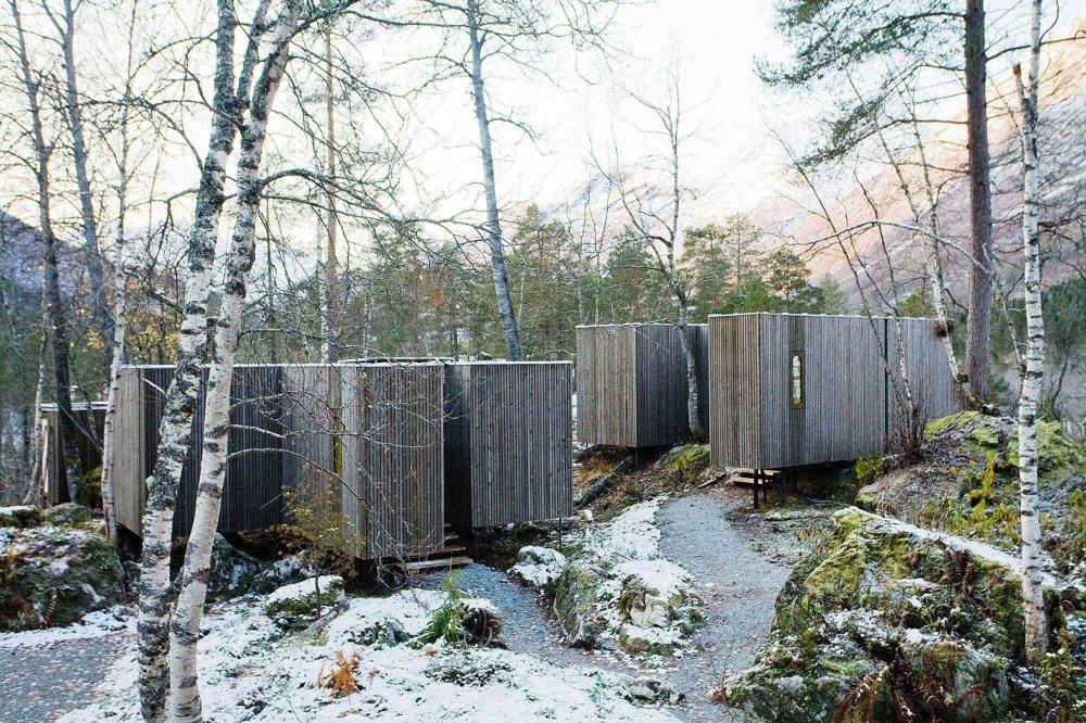 Previous / Next (1 of 18) Thumbnails. Juvet landscape ... - Juvet Landscape Hotel - First Phase - Jensen & Skodvin