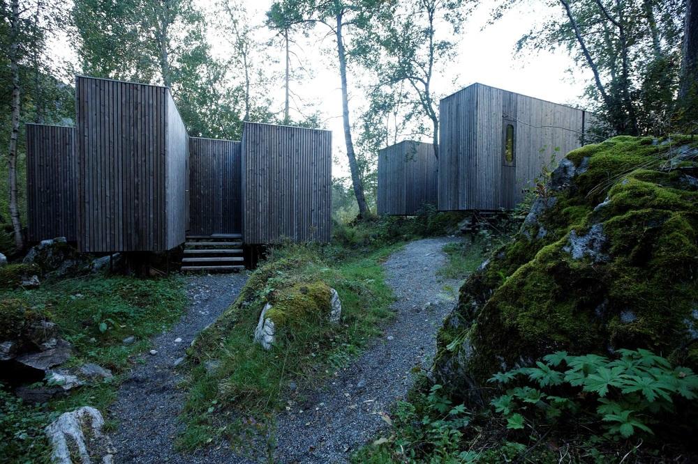 juvet landscape hotel first phase jensen skodvin. Black Bedroom Furniture Sets. Home Design Ideas